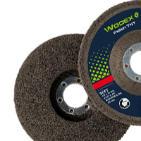 Fabric discs for surface treatment