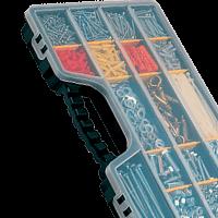 Contenedores para piezas metálicas pequeñas