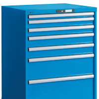 Drawer units for workshops