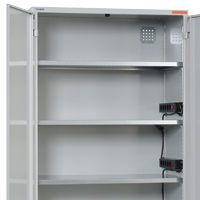 Industrial cabinets for warehouses and workshops