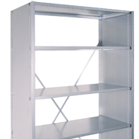 Shelves for warehouses and offices