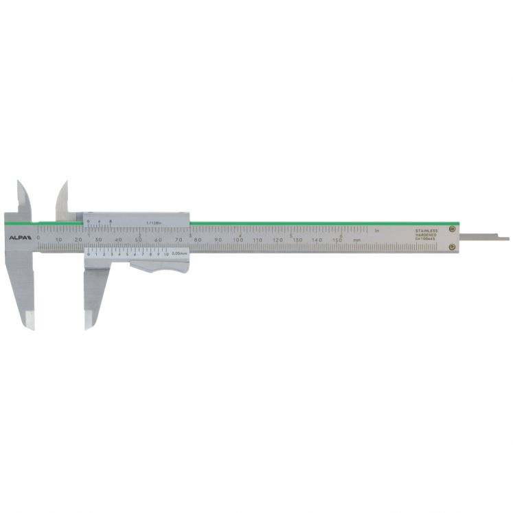 Calibri analogici a corsoio monoblocco con bloccaggio a leva ALPA AB011
