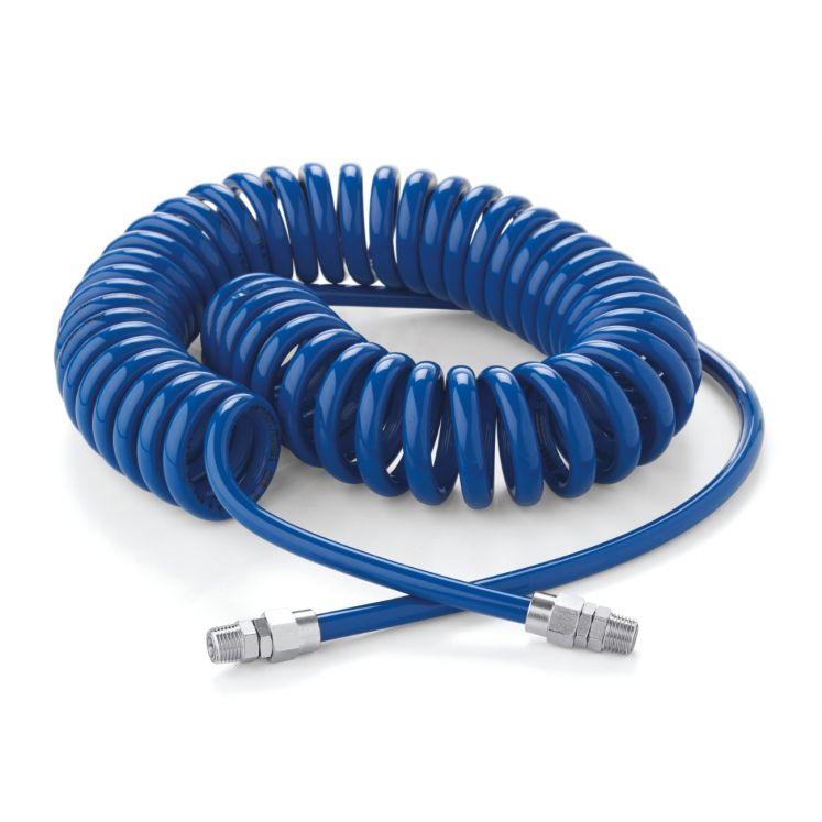 """Tubi a spirale raccordati 1/4"""" in poliuretano extra flessibile CEJN 19-958-946"""
