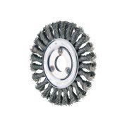 Spazzole abrasive a disco con foro e filo ritorto PFERD Abrasivi 39376 0