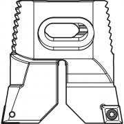 Portainserti per sgrossatura SWISS MBM Utensili a fissaggio meccanico 34651 0