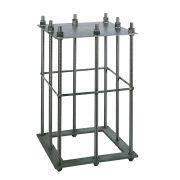 Plinti e gabbie di fondazione per gru a colonna B-HANDLING Sollevamento 3987 0