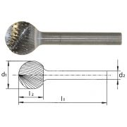 Frese rotative in HSS PFERD F Abrasivi 61 0