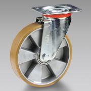 Ruote in poliuretano nucleo in alluminio con supporto TELLURE RÔTA Macchine, attrezzi e componentistica 6106 0