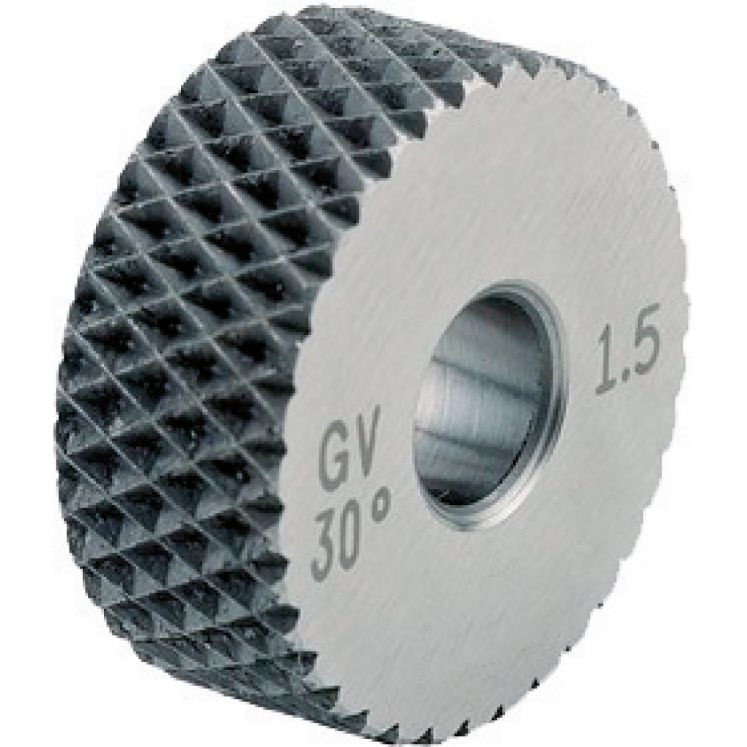 Form knurling wheels KERFOLG ROUGH - TYPE GV 45°
