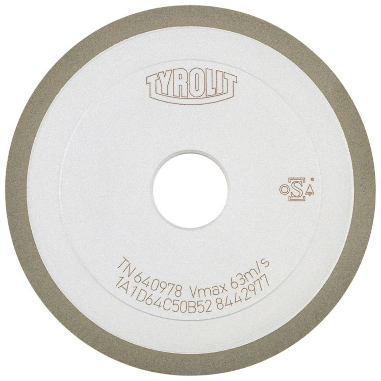 Diamond wheels form 1A1 TYROLIT 612860