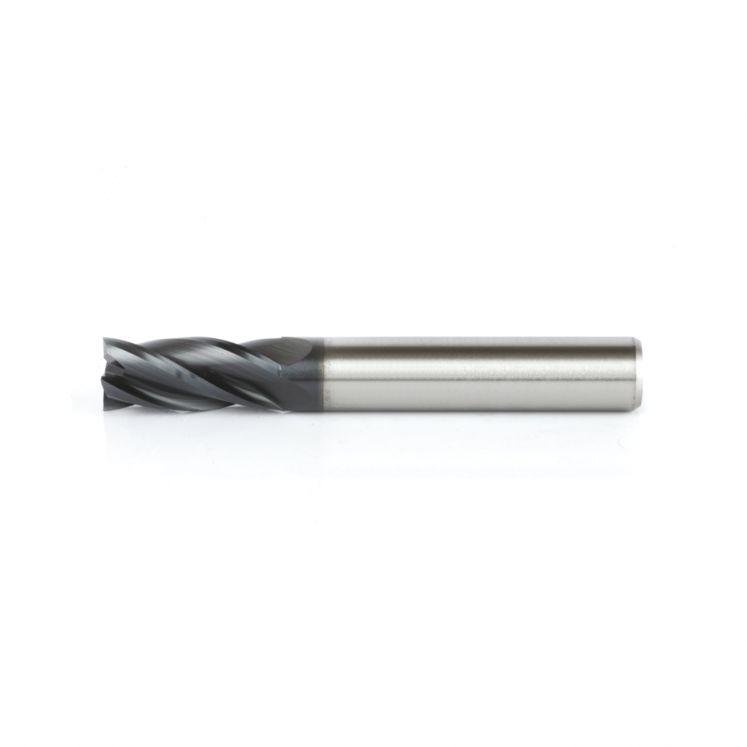 Four flute HSS high speed steel Co8 end mills Z4 WRK
