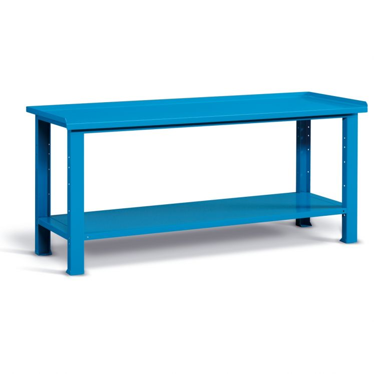 Steel top workbenches