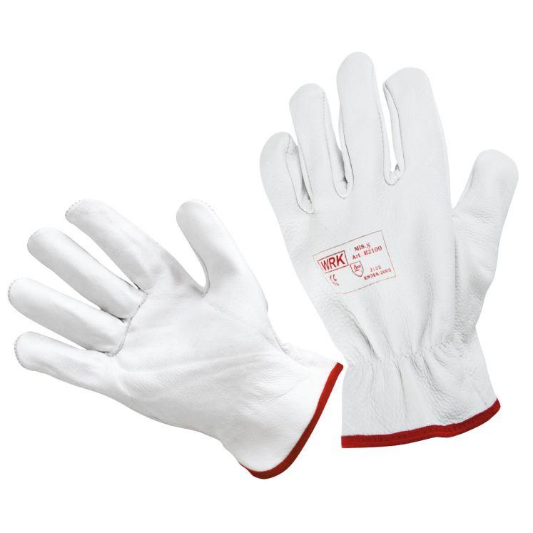 Work gloves in cowhide grain leather WRK