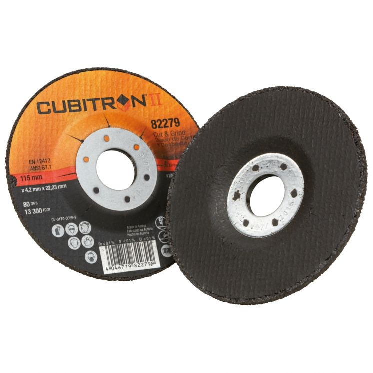 Hybrid cutting and grinding discs 3M CUT & GRINDING CUBITRON II