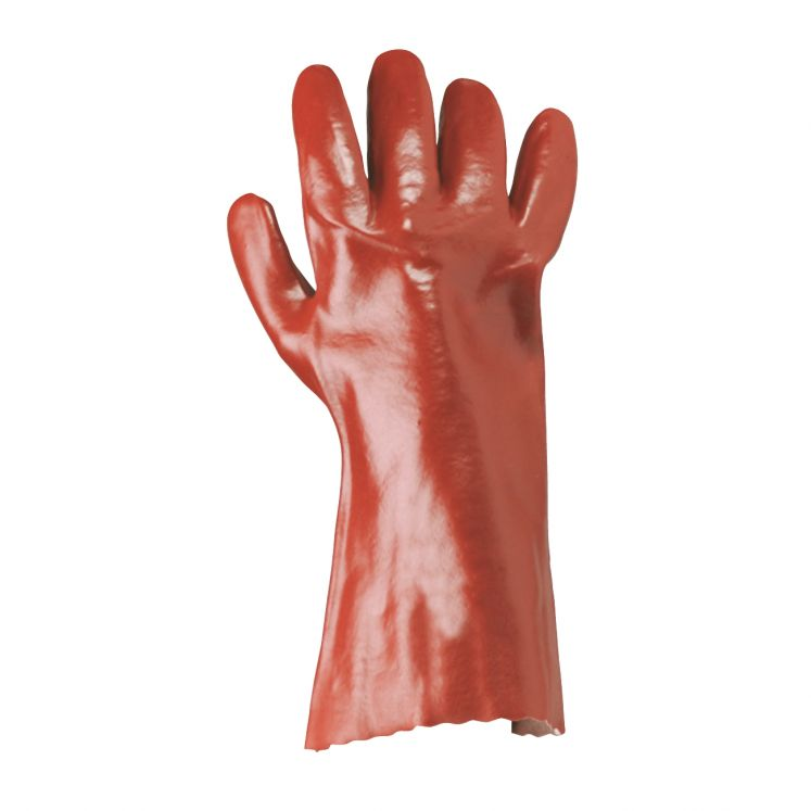Work gloves coated in specially santized pvc