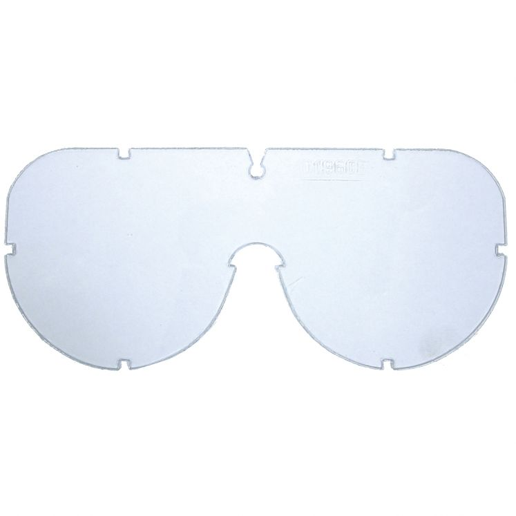 Replacement lens for protective goggles