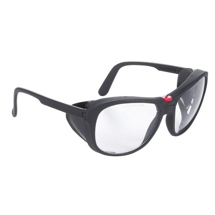 Protective eyewear in glass