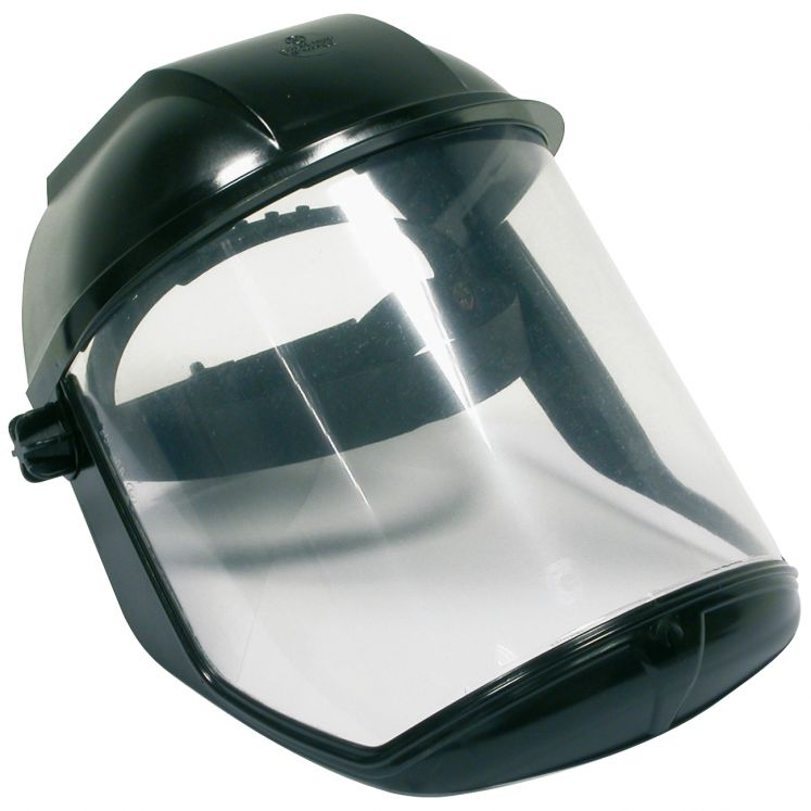 Protective visor for high temperatures