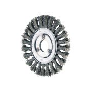 Wheel brushes with hole and twist knotted wire PFERD Abrasives 39376 0