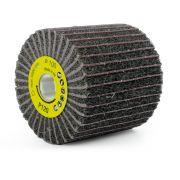 Non-woven mixed flap wheel for satinex machines WRK Abrasives 35334 0