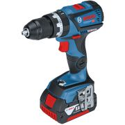 Cordless screwdriver drills with battery percussion 18V BOSCH GSB 18V-60 C PROFESSIONAL Workshop equipment 21406 0