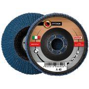 Flap grinding discs with fiberglass backing in zirconium abrasive cloth WRK PYTHON FIBRA Abrasives 244834 0