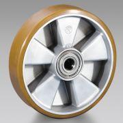 Polyurethane wheels with aluminium centre TELLURE RÔTA Workshop equipment 6105 0
