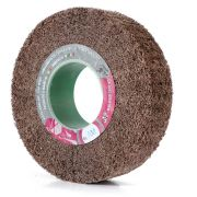 Non-woven abrasive flap wheels with hole WRK Abrasives 32283 0