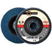Flap grinding discs with fiberglass backing in zirconium abrasive cloth WRK FALCON FIBRA Abrasives 19594 0