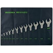 Set of double open ended wrenches WODEX Hand tools 348073 0