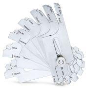 Fillet weld gauges 7 blades ALPA Measuring and precision tools 244934 0