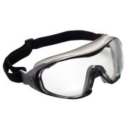 Protective goggles grey frame
