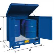 Outdoor storage deposits LTEC Furnishings and storage 38986 0