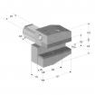 ALGRA, angetriebene Radial-Werkzeugaufnahmen, VDI, DIN 69880, links