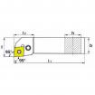 KERFOLG TURN, Wendeplattenhalter für die Außendrehbearbeitung, für negative Wendeschneidplatten - Form C - PCLNR/L