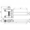 KERFOLG, Rändelwerkzeug, für mehrere Rändelräder, für konventionelle Drehmaschinen, ROUGH