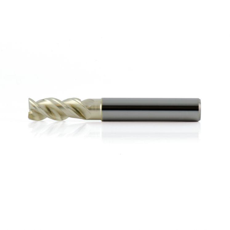 Fresas para aleaciones ligeras de metal duro con 3 filos aluminio KERFOLG ALUFLY WIND Z