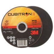 Discos de corte planos 3M CUBITRON II Abrasivos 35746 0