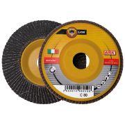 Discos laminares con soporte de plástico y tela abrasiva de carburo de silicio WRK LION PLASTICA Abrasivos 30173 0