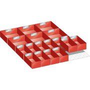 Kit de material de subdivisión para cajones en bandejas 27x36 E LISTA Mobiliario y colectores para taller 348208 0