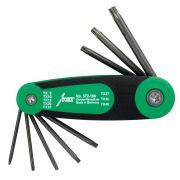 Juego de llaves para tornillos Torx con soporte de bolsillo HAFU Herramientas manuales 360498 0