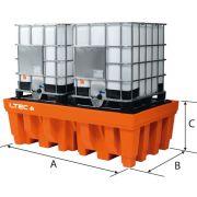 Cubetas de polietileno para cisternas LTEC Mobiliario y colectores para taller 38980 0