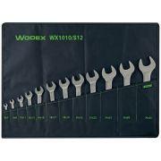 Juego de llaves de boca fija dobles WODEX Herramientas manuales 348073 0