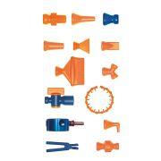 Tubos flexibles montables 1/4andquot; LOC-LINE Lubricantes y Aceites para herramientas 5678 0