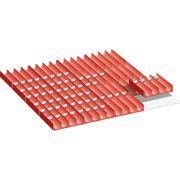 Kit de material de subdivisión para cajones con compartimientos 36x36 E LISTA 100.317.000 Mobiliario y colectores para taller 348219 0