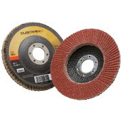 Flat flap grinding discs 3M 967/A CUBITRON II VERSIONE PIANA Abrasives 35749 0
