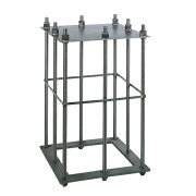 Foundation plinths and cages for column cranes B-HANDLING Lifting systems 3987 0