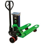 Scale pallet trucks with printer B-HANDLING Lifting systems 35032 0