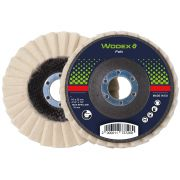 Discs for surface treatment in felt WODEX FELT Abrasives 348094 0