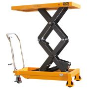 Mobile elevating platforms two-fold B-HANDLING Lifting systems 4052 0